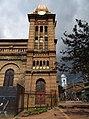 2018 Bogotá torres de la iglesias del parque de Las Cruces.jpg