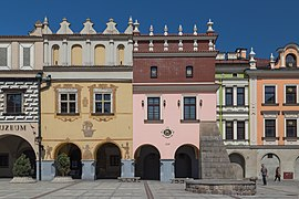 2018 Tarnów, Rynek 19-20-21, Renesansowe kamienice 06.jpg