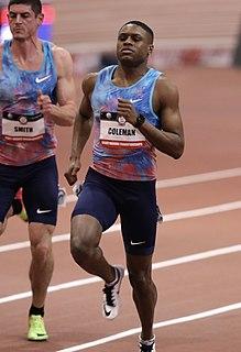 Christian Coleman American sprinter