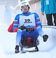2019-01-25 Doubles Sprint Qualification at FIL World Luge Championships 2019 by Sandro Halank–216.jpg