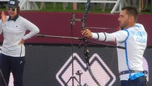 File:2019-09-07 - Archery World Cup Final - Men's Recurve - Semifinal - Mauro Nespoli shoots.webm
