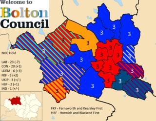 2019 Bolton Metropolitan Borough Council election