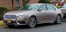 "2019 Lincoln Continental ""Select"", front 10.29.19.jpg"