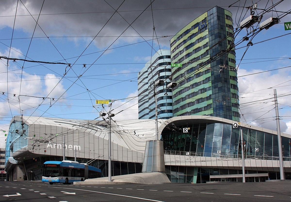 Arnhem Centraal railway station - Wikipedia