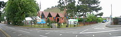 24062006 Outside St Saviour's Panorama 3.JPG