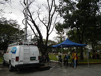 Saksi - The crew at James B. Reuter wake (Ateneo de Manila University).