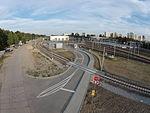 2 - Dzielnica mieszkaniowa Łódź Widzew i Dworzec Kolejowy Dji Phantom 3.JPG