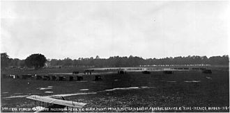 124th Infantry Regiment (United States) -  2nd Florida Infantry passing in review at Camp Foster prior to deployment on the Punitive Expedition