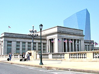 Market Street Bridge (Philadelphia) - Image: 30th Street Station Philly