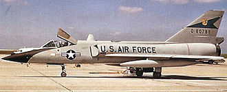 319th Fighter Interceptor Training Squadron - Image: 319th Fighter Interceptor Squadron F 106 58 0788