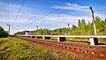 32Km station platform at BMO Moscow's Railway.jpg
