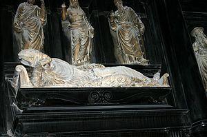 Marino Caracciolo - Portrait of Marino Caracciolo from his grave. Duomo of Milan.