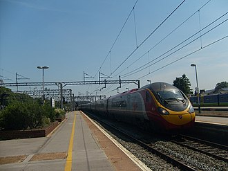 Virgin Trains - Pendolino 390001 Virgin Pioneer at Watford Junction