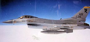 496th Tactical Fighter Squadron - General Dynamics F-16C Block 25E Fighting Falcon - 84-1315.jpg