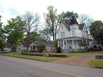 National Register of Historic Places listings in Lauderdale County, Alabama - Image: 501 507 511 N Cherry St Florence Apr 2017