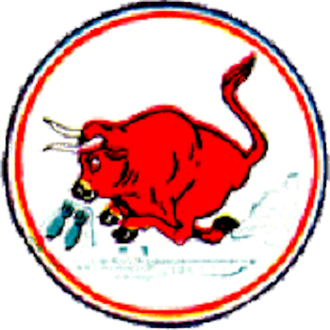 185th Air Refueling Squadron - World War II 506th Fighter Squadron emblem