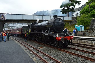 LNER Gresley K4 61994 The Great Marquess - The Great Marquess at Blaenau Ffestiniog