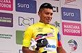 6 Etapa-Vuelta a Colombia 2018-Ciclista Jonathan Caicedo-Lider Clasificacion General.jpg