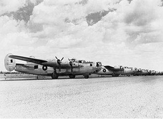No. 82 Wing RAAF - B-24 Liberators of No. 82 Wing at Fenton Airfield, Northern Territory, March 1945