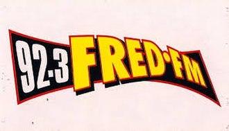CFRK-FM - Image: 923Fred F Mlogo