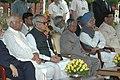 A.P.J. Abdul Kalam, the Vice President, Shri Bhairon Singh Shekhawat and the Prime Minister.jpg