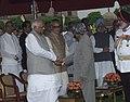 A.P.J. Abdul Kalam with Speaker, Lok Sabha, Shri Somnath Chatterjee, the Vice President, Shri Bhairon Singh Shekhawat and Prime Minister.jpg
