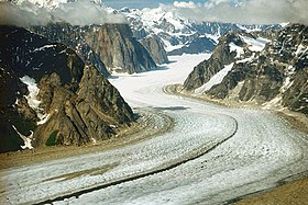 A048, Denali National Park, Alaska, USA, Ruth Glacier and the Great Gorge, 2002.jpg