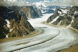 Matanuska-Susitna Borough, Alaska - Image: A048, Denali National Park, Alaska, USA, Ruth Glacier and the Great Gorge, 2002