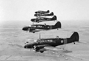 No. 66 Squadron RAAF - RAAF Avro Ansons similar to those used by No. 66 Squadron