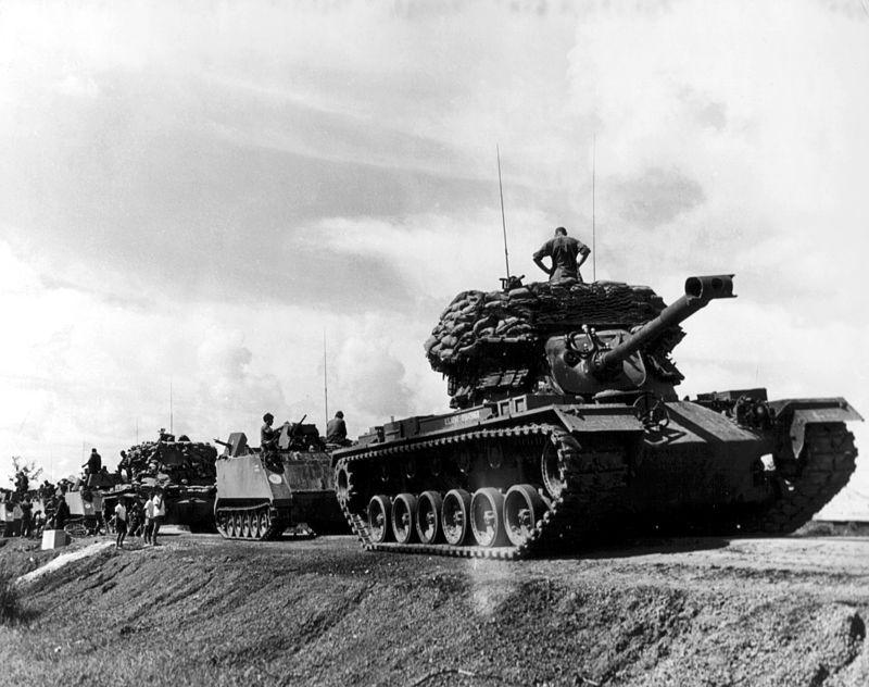 ACAV and M48 Convoy Vietnam War.jpg