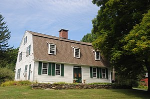 National Register of Historic Places listings in Litchfield County, Connecticut - Image: AMOS BALDWIN HOUSE, GOSHEN, LITCHFIELD COUNTY, CT