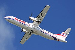 ČSA Czech Airlines ATR72