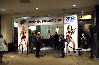 29th AVN Awards AEE 2012 Expo AVN Adult Entertainment Expo 2012 - Exit.jpg