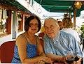 A Venise avec Nohad Salameh, son épouse. 2009.jpg