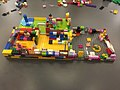 A beautiful and busy Lego cafe with garden at Manchester Central Library (32571281316).jpg