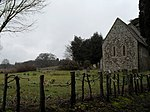 A dull afternoon in March at St Agatha, Coates