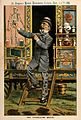 A quack doctor selling remedies from his caravan; satirizing Wellcome V0011377.jpg