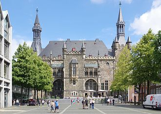 Charlemagne Prize - The city hall of Aachen