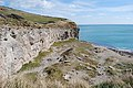 Abandoned quarry at Dancing Ledge - geograph.org.uk - 733837.jpg