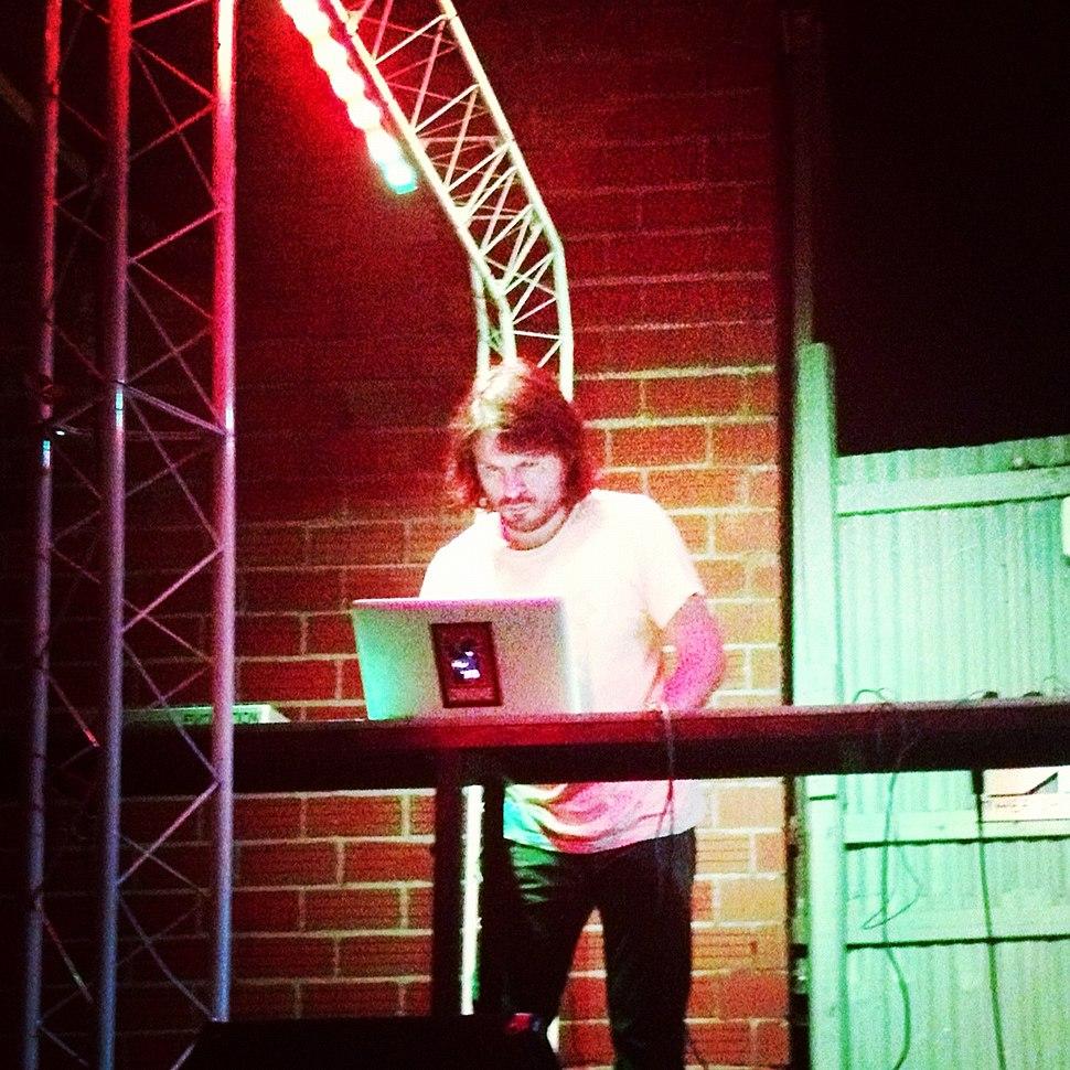 Abinadi Meza, live sound art performance, 2012.jpg
