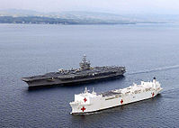 Abraham lincoln & usns mercy in company (by usn photographer's mate 3c gabriel r. pipero).jpg