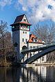 Abteibrücke mit Brückenturm, Insel der Jugend, Berlin-Treptow, 160213, ako.jpg