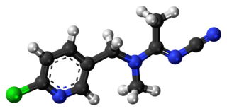 Acetamiprid chemical compound