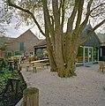 Achtergevel van de timmerwerkplaats en zicht op de houten loods en terrasje - De Lier - 20340708 - RCE.jpg