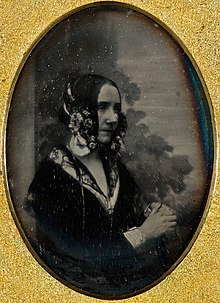 Augusta Ada King, Countess of Lovelace, daguerrotype portrait circa 1843