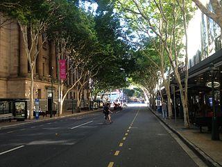 Adelaide Street, Brisbane road in Brisbane