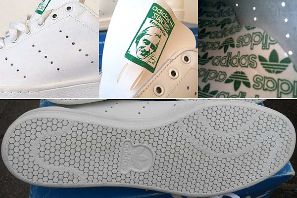 new product f7e0e 2f99a Details of the design of Adidas Stan Smith (i) the three rows of