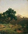 Adolf Christian Baumann - Landschaft mit Burg - 5472 - Österreichische Galerie Belvedere.jpg
