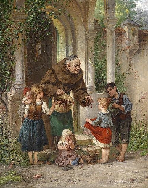Adolf Humborg Kirschen für die Kinder.jpg