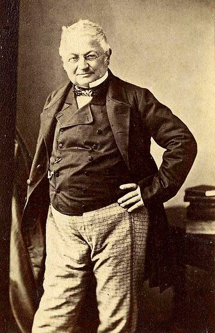 Adolphe Thiers photographed by Disderi, ca. 1876 Adolphe Thiers by Disderi, Paris-crop.jpg